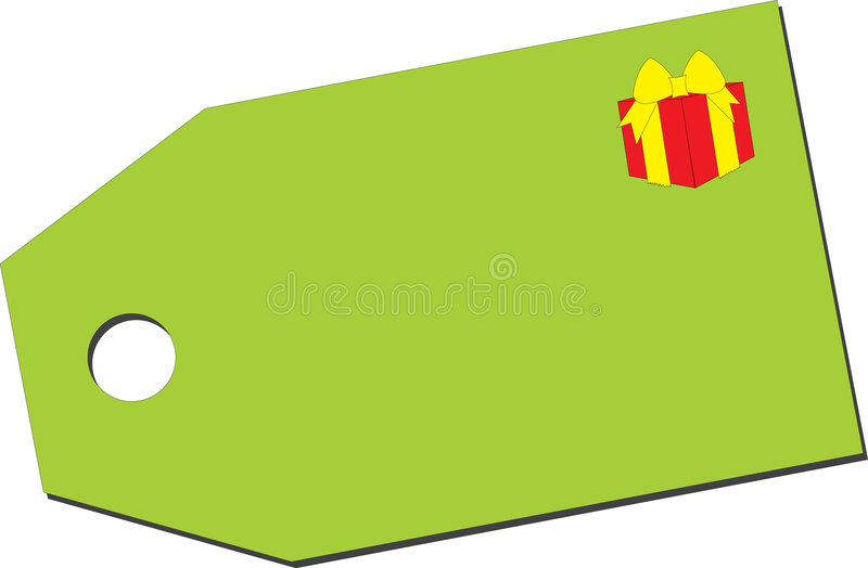Download Price tag with gift box stock vector. Image of price, ring - 2123489