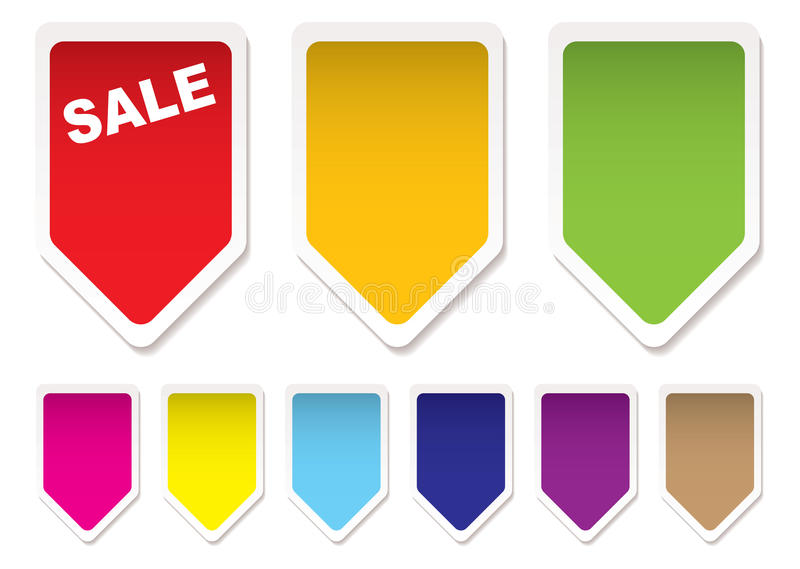Download Price tag icons stock vector. Illustration of blank, shop - 14852426