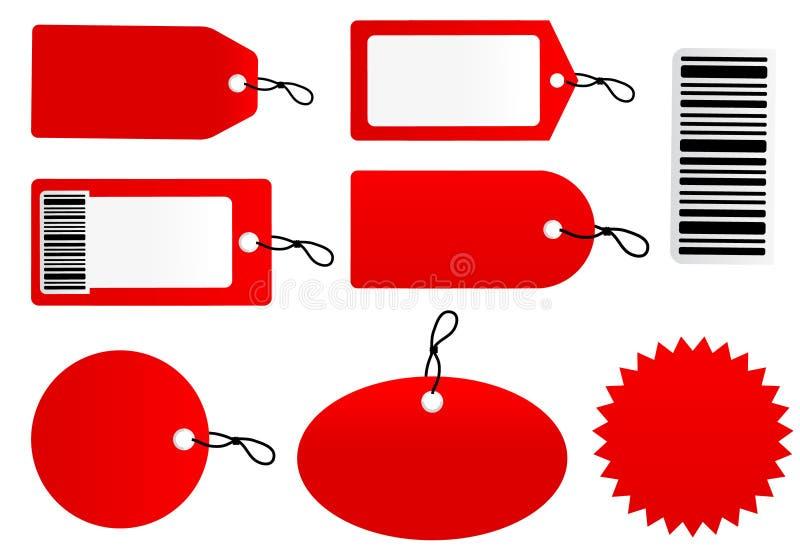 Price tag set. Vector illustration of price tag set