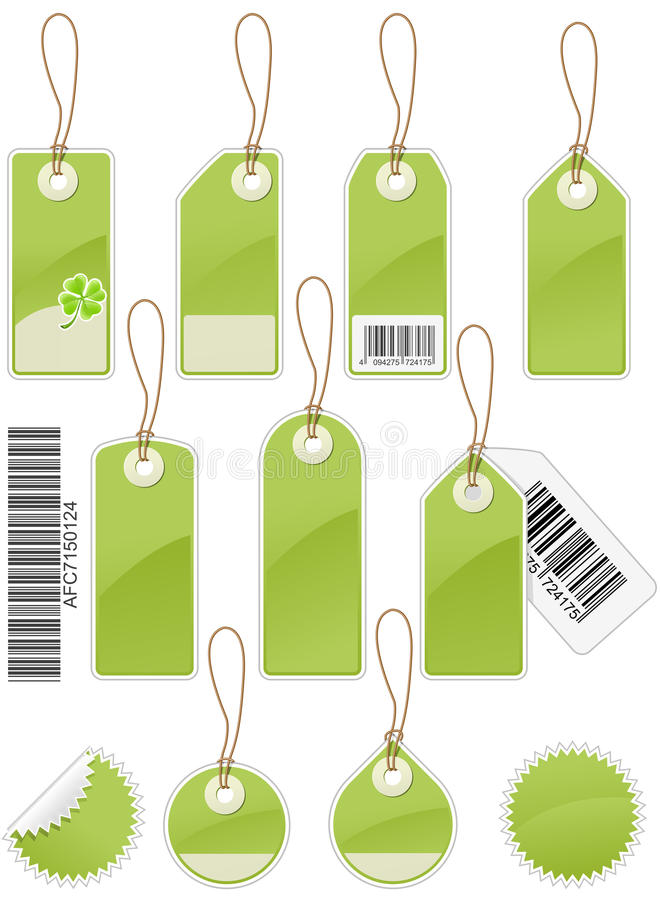 Download Price tags stock vector. Image of circle, sale, rectangle - 13749237