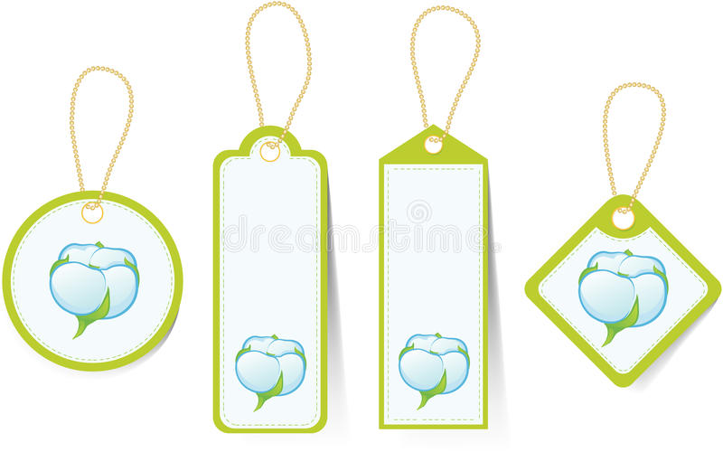 Download The price tags stock vector. Illustration of sign, textile - 22719759