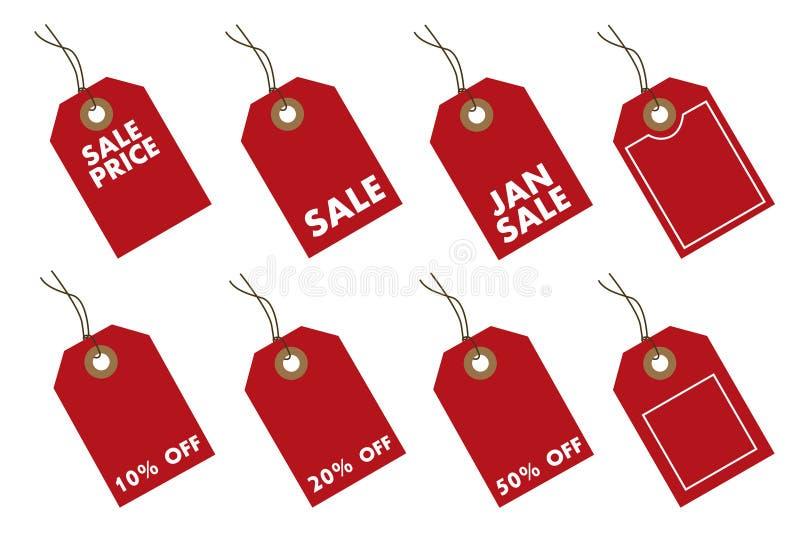 Price tags stock illustration