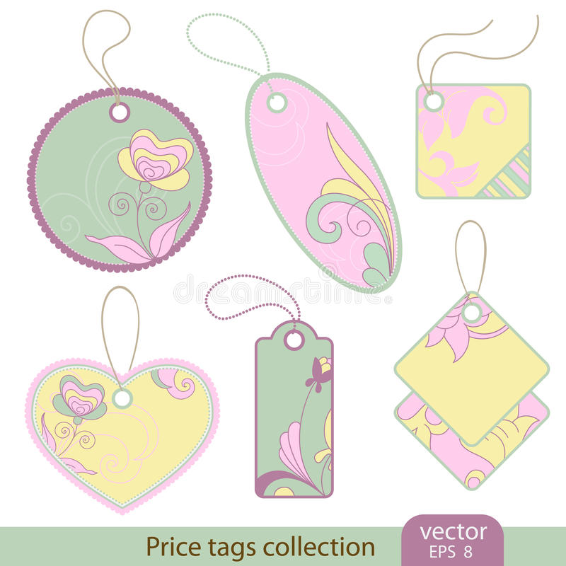 Download Price Tags Collection Royalty Free Stock Photography - Image: 18346897