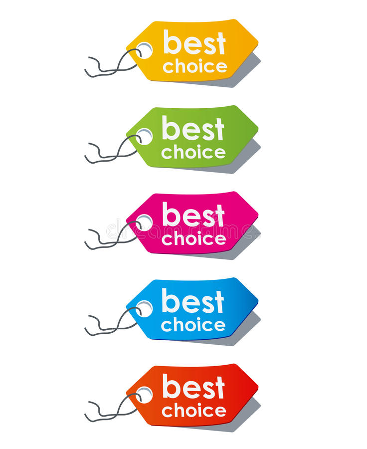 Price tags. Vector vector illustration
