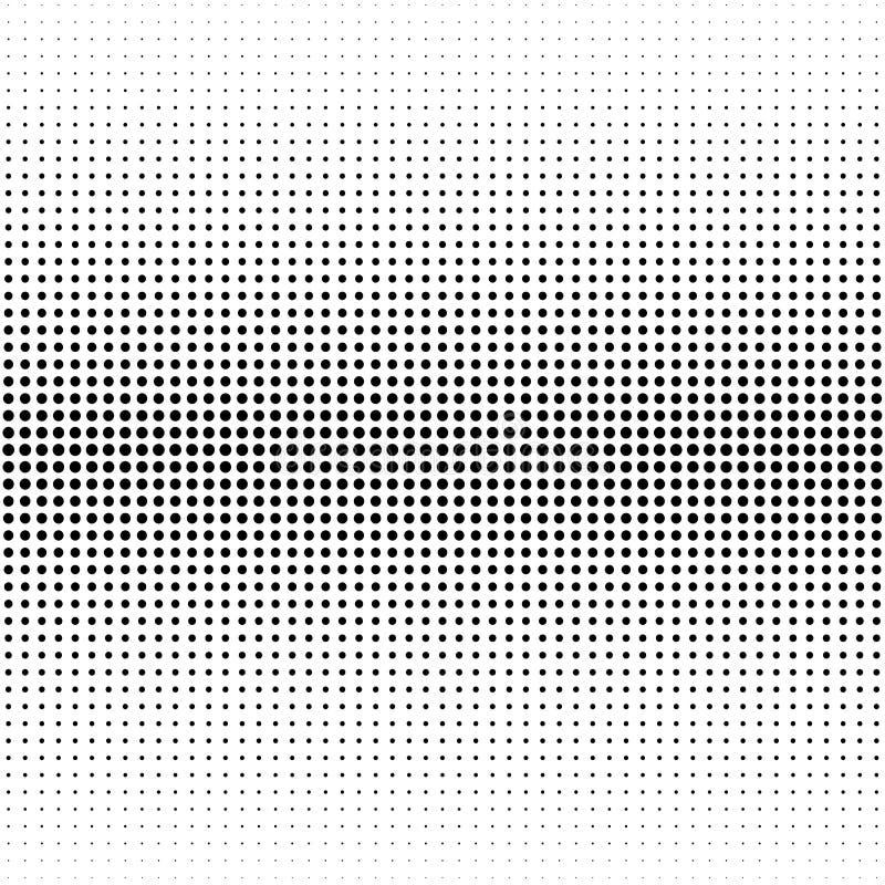 Prickig bakgrund för halvton Rastrerad effektvektormodell Circ royaltyfri illustrationer