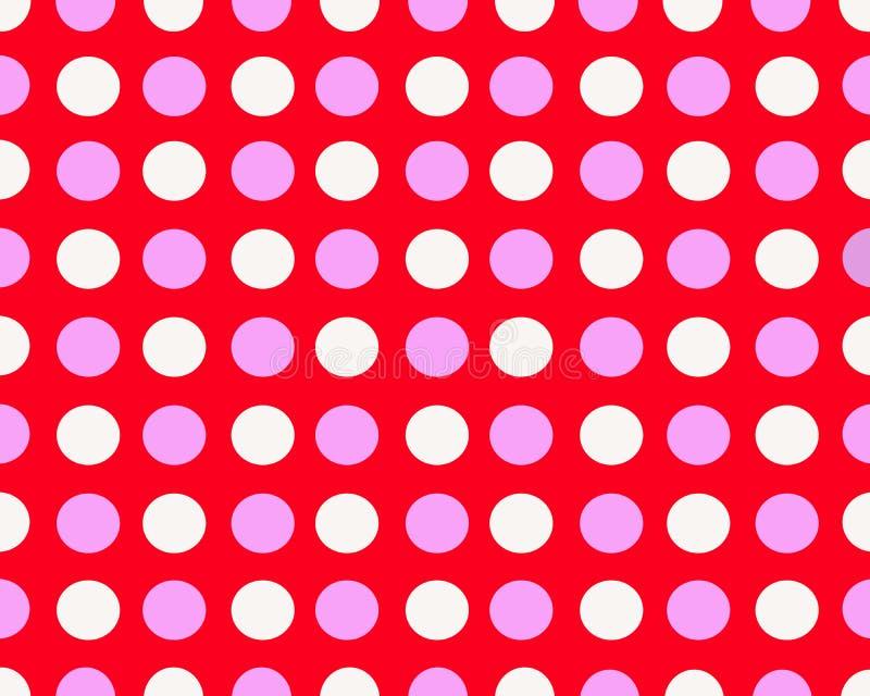 Prickig bakgrund för rosa färger och för vit royaltyfri fotografi