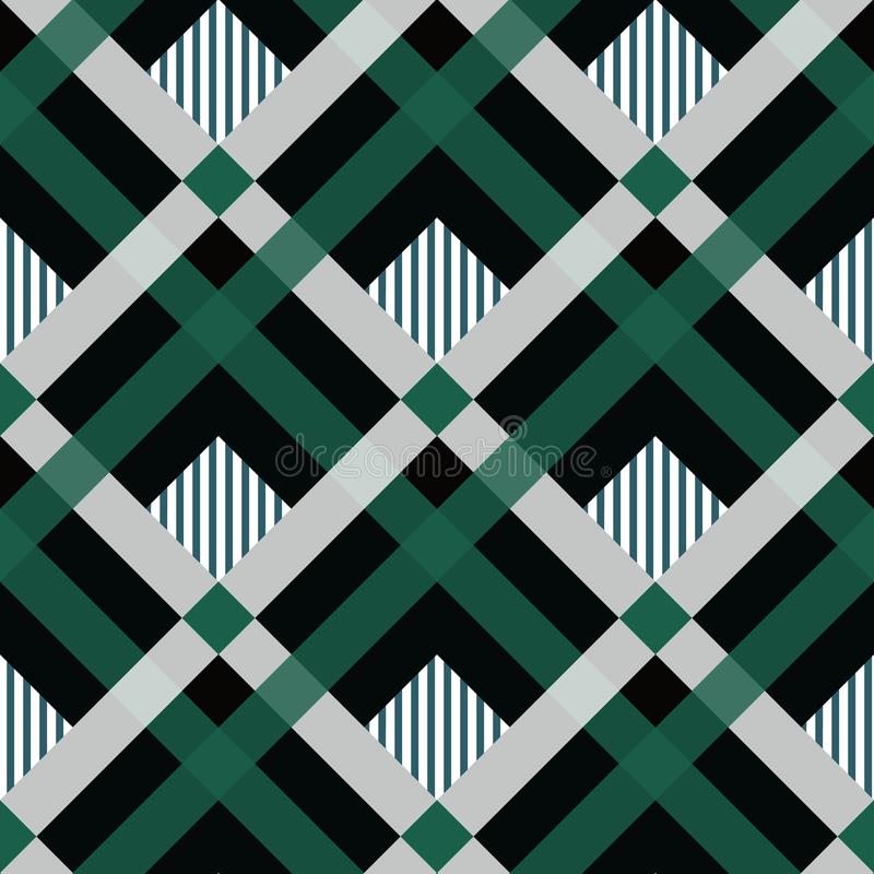 Free Pride Of Ireland Tartan Fabric Texture Seamless Pattern .Vector Illustration. EPS 10. No Transparency. No Gradients Royalty Free Stock Photography - 137850917
