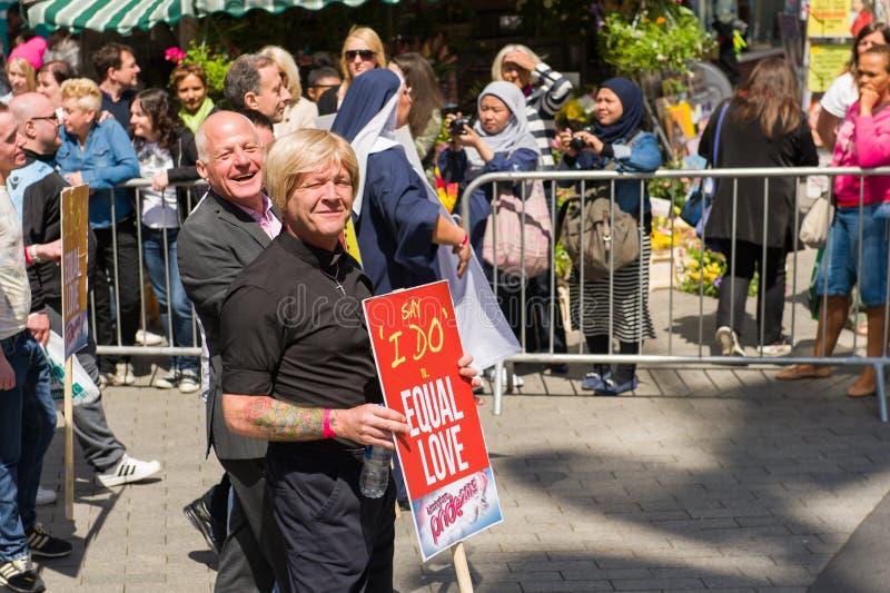 Pride Parade 2013, Birmingham fotos de archivo