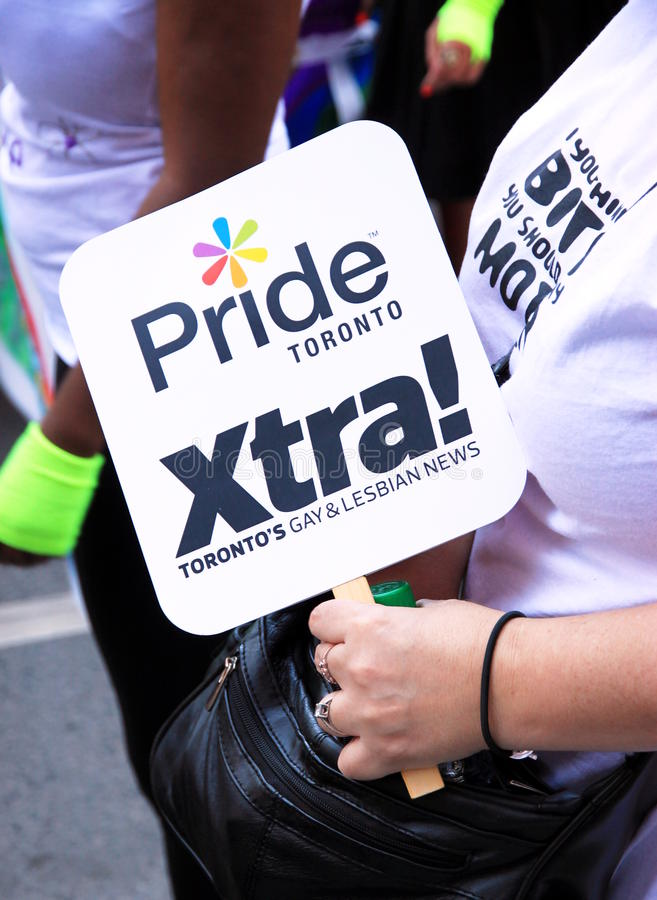 Download Pride Toronto editorial stock image. Image of largest - 20153639