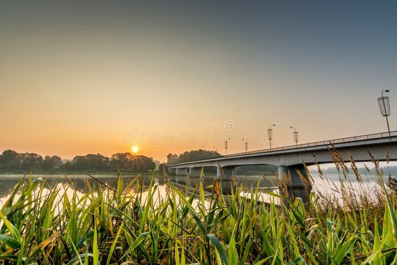 Prienai most obraz stock