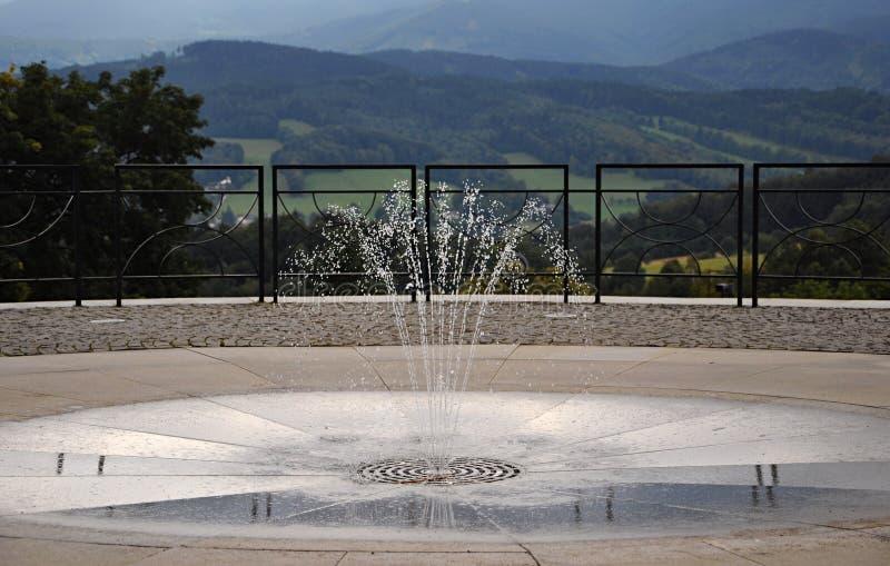 Priessnitz Spa Toevlucht stock foto