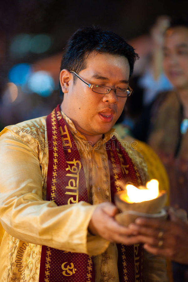 Download Priest editorial photography. Image of silom, holy, festival - 16563202