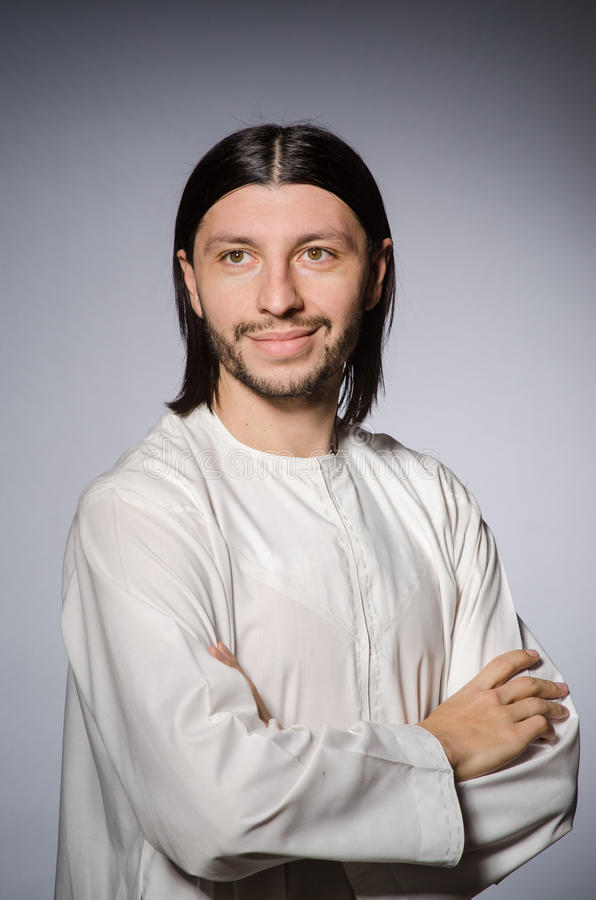Priest man in religious stock photography