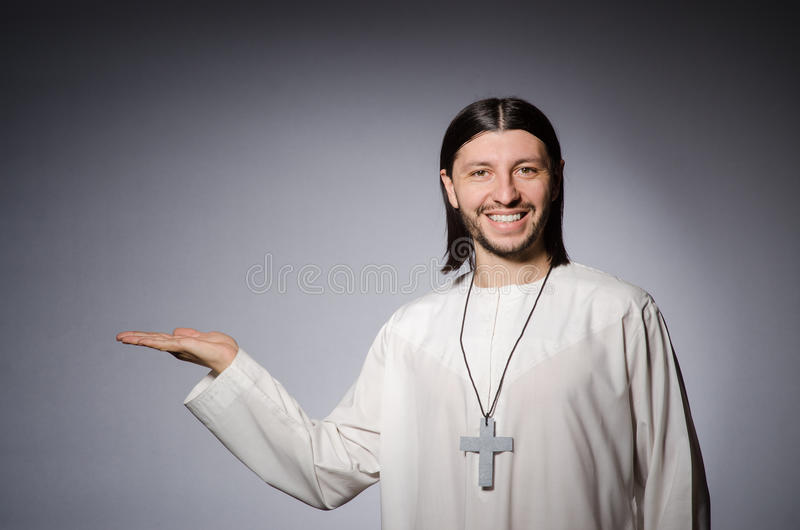 Priest man in religious royalty free stock photos