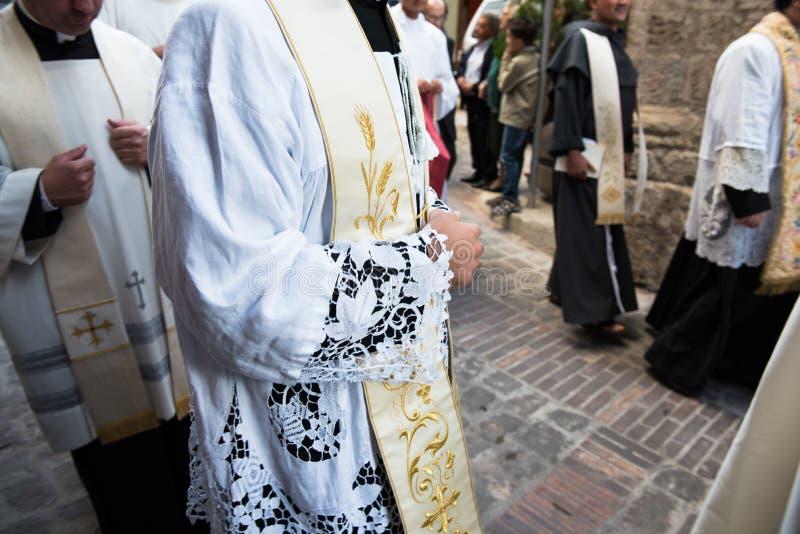 priesters royalty-vrije stock fotografie