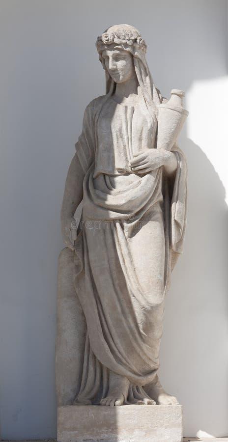 priestess royaltyfria foton
