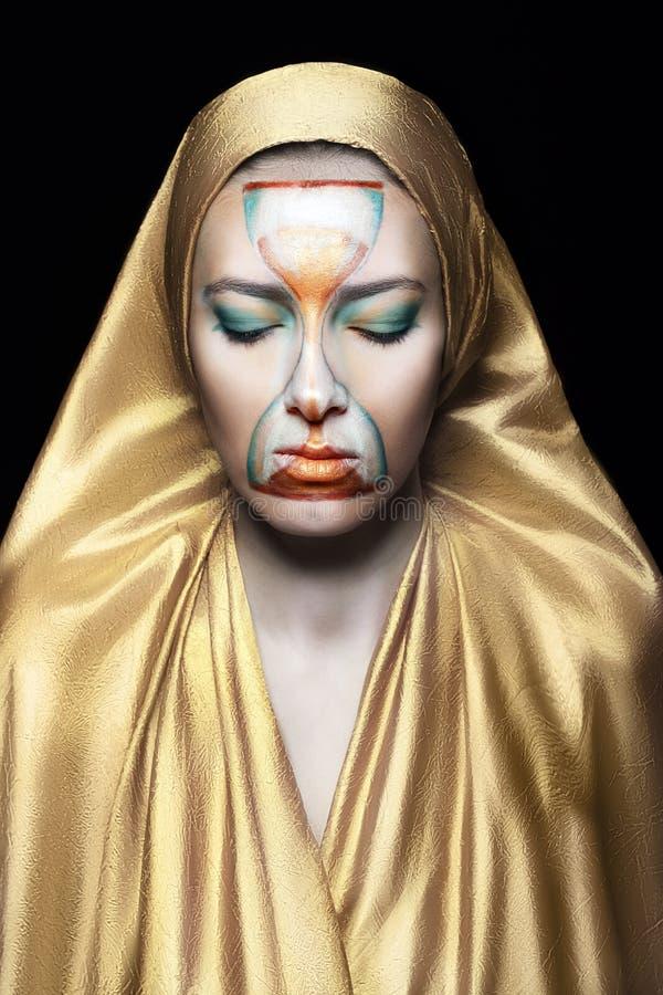Priestess av tid fotografering för bildbyråer