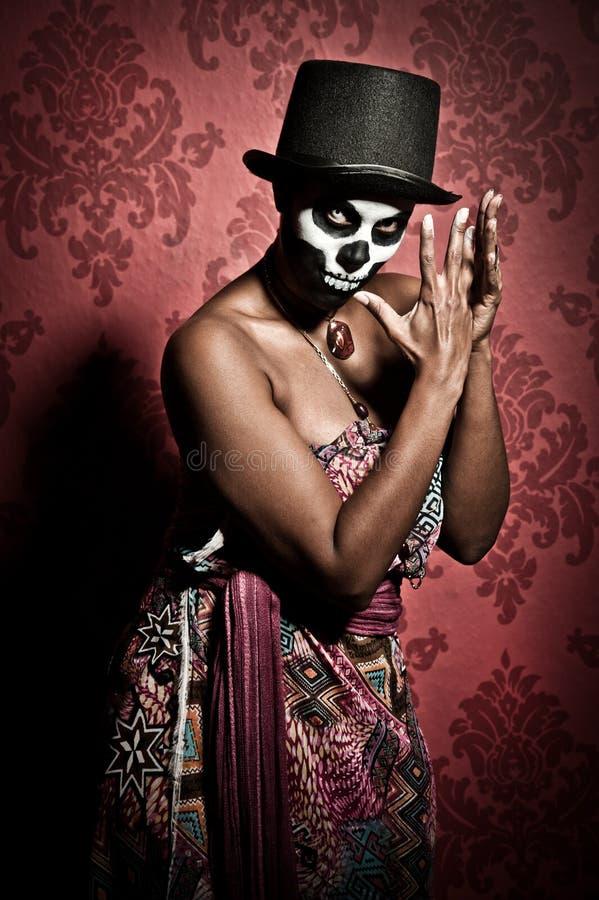 Priestess do Voodoo fotos de stock royalty free