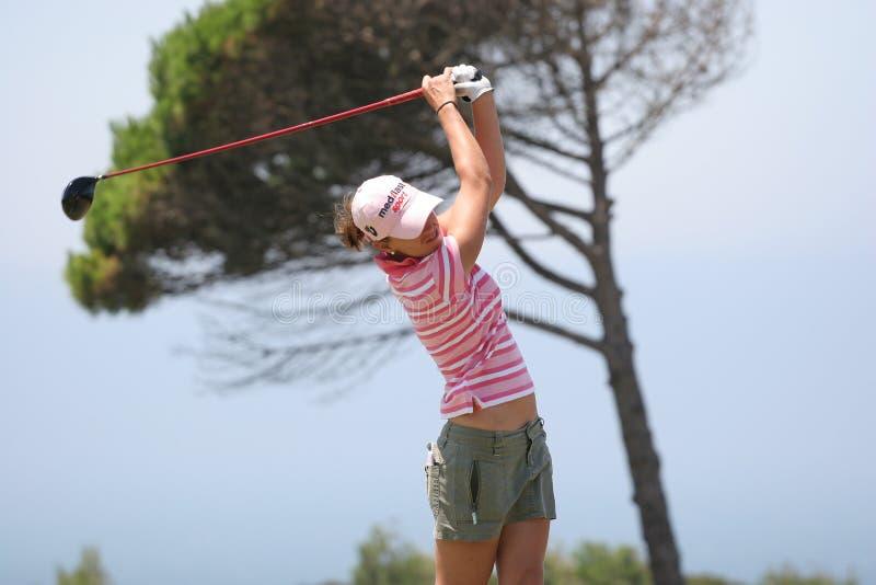Prieto, Portugal ladies Open 2007, Oitavos stock photo