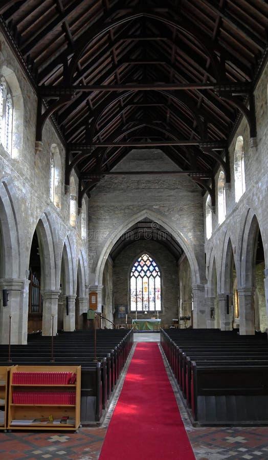 Prieuré de Snaith - intérieur - Yorkshire de monte est image libre de droits