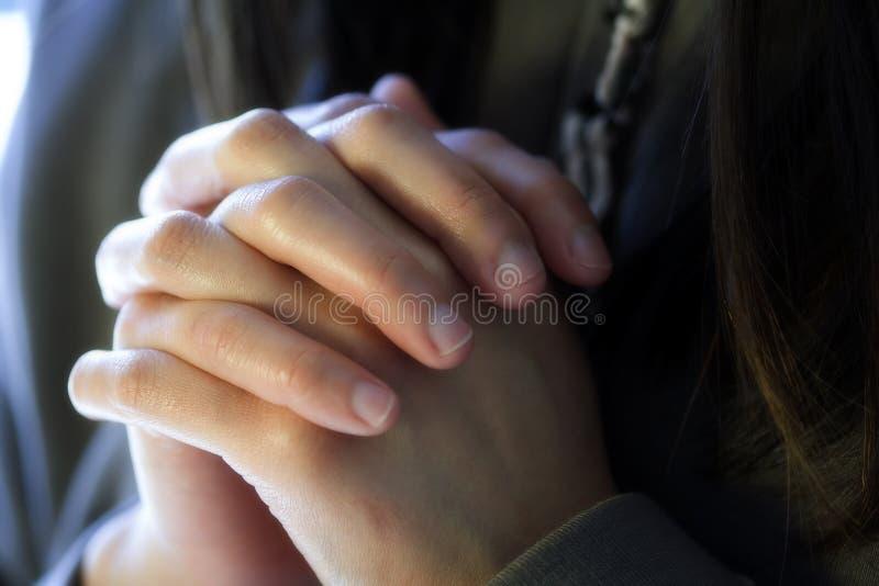 Priez image libre de droits