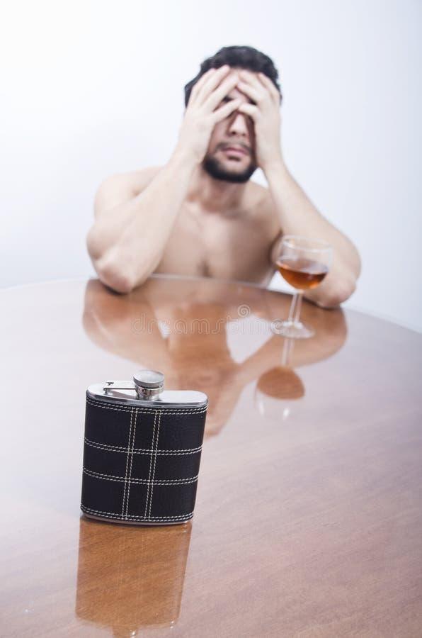 Prigione dell'alcool fotografia stock libera da diritti
