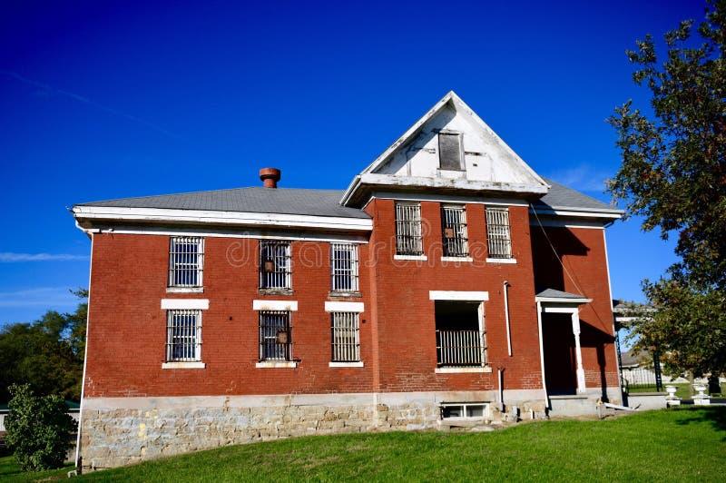 Prigione della contea di Chariton e residenza di Sheriff's immagine stock libera da diritti