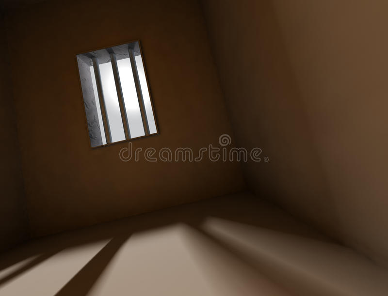 Prigione della priorità bassa royalty illustrazione gratis
