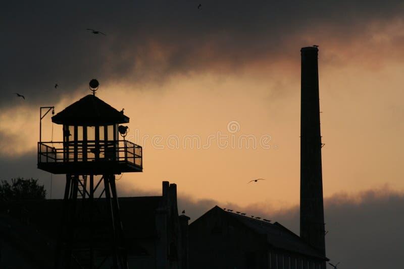 Prigione di Alcatraz fotografia stock
