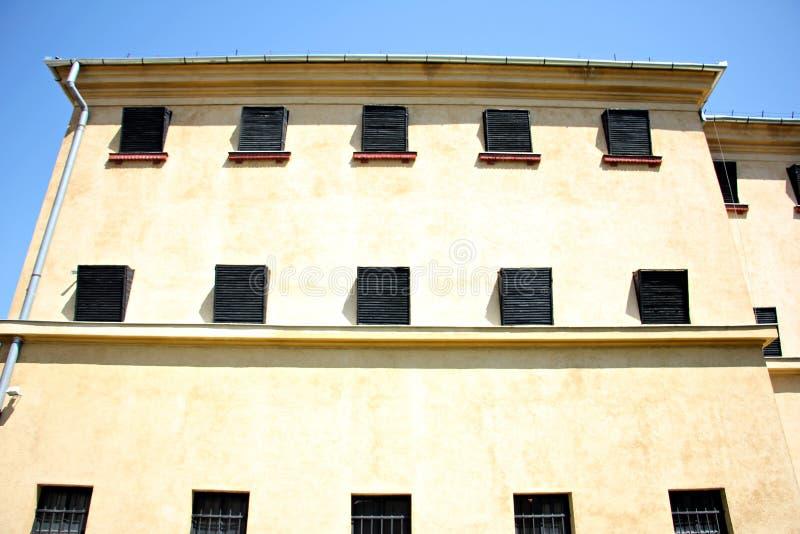 prigione Il memoriale delle vittime di comunismo e della resistenza immagine stock