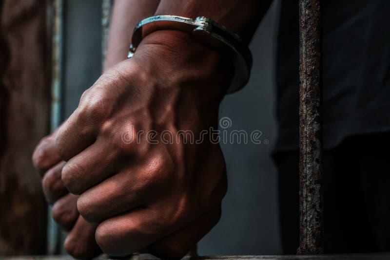 Prigioniero immagine stock libera da diritti