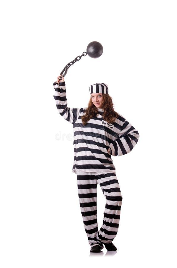 Prigioniero in uniforme a strisce