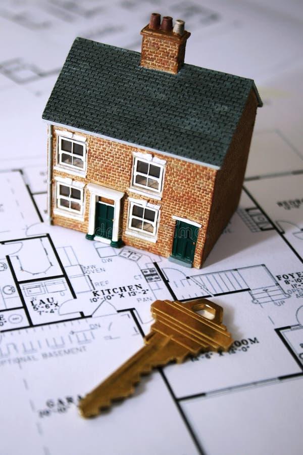 Prima casa immagine stock libera da diritti