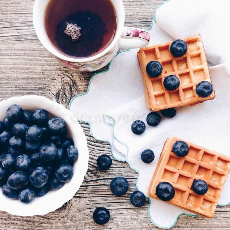 Prima colazione fotografie stock
