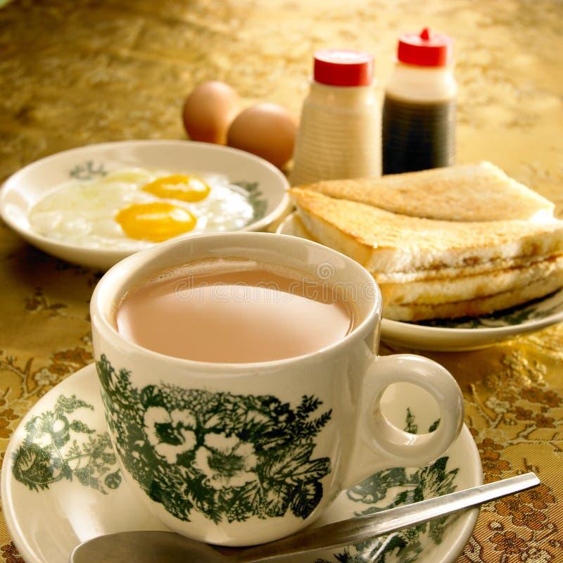 Prima colazione asiatica fotografia stock libera da diritti