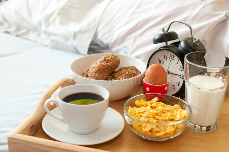 Prima colazione in base immagine stock