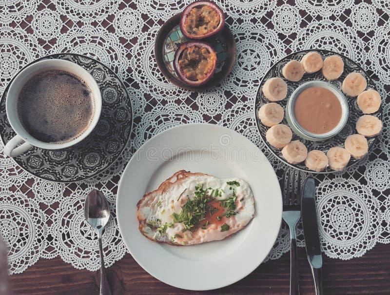 Prima colazione bella immagine stock