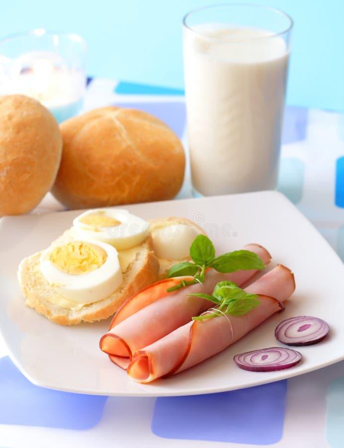 Prima colazione chiara immagini stock libere da diritti