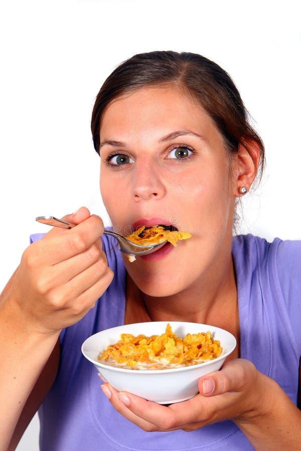 Prima colazione Crunchy immagine stock libera da diritti