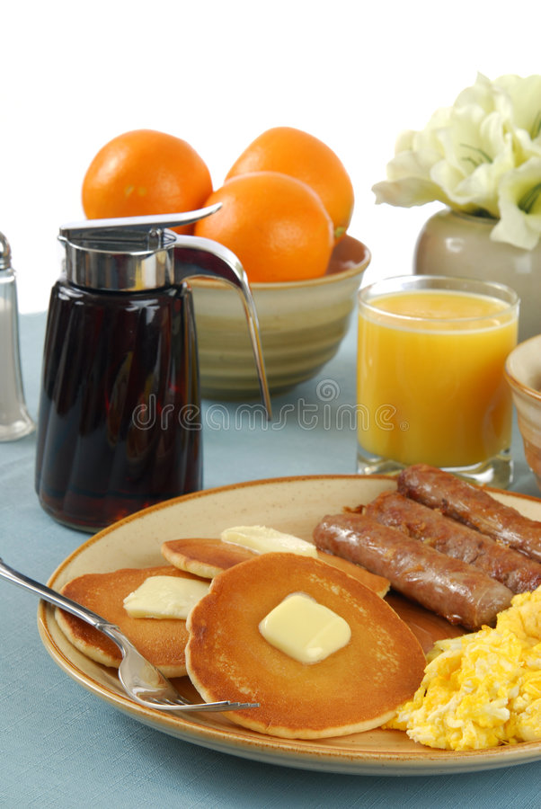 Prima colazione del paese fotografia stock libera da diritti