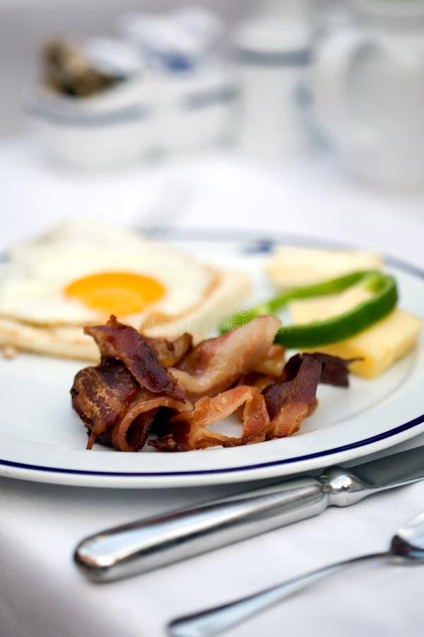 Prima colazione dell'hotel fotografie stock libere da diritti