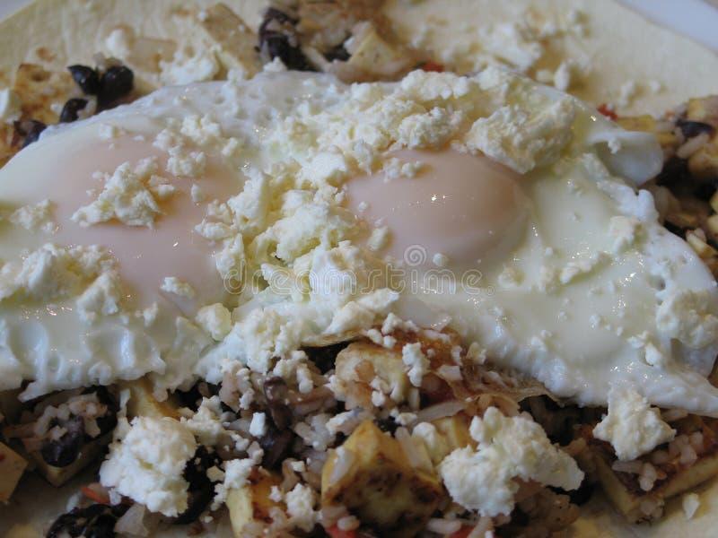 Prima colazione dell'uovo immagine stock