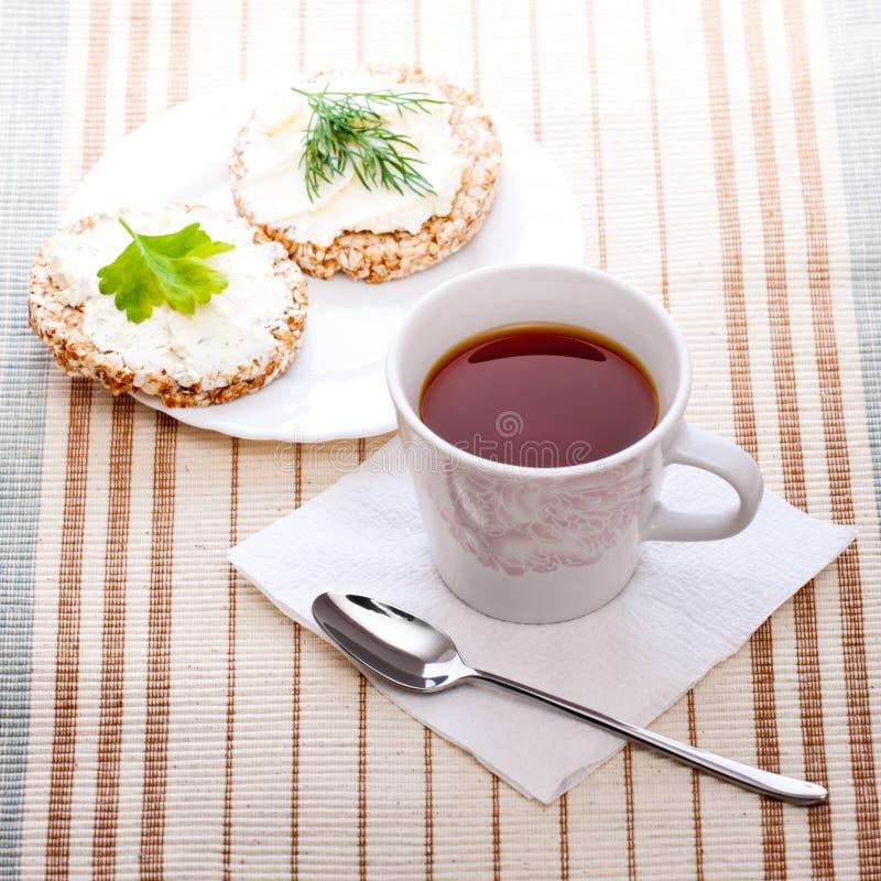 Prima colazione di dieta fotografia stock libera da diritti