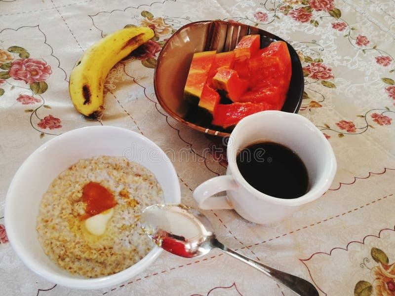 Prima colazione di estate fotografia stock