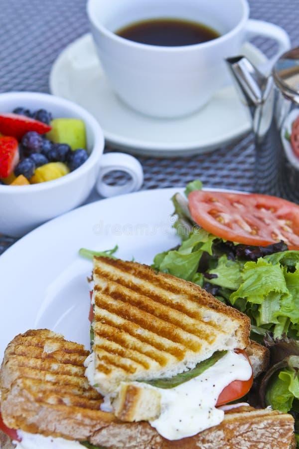 Prima colazione di Panini immagini stock libere da diritti