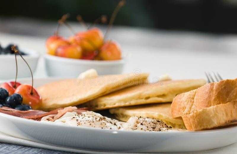 Prima colazione gastronomica immagine stock libera da diritti