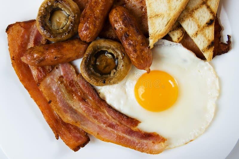 Prima colazione inglese tradizionale immagini stock libere da diritti