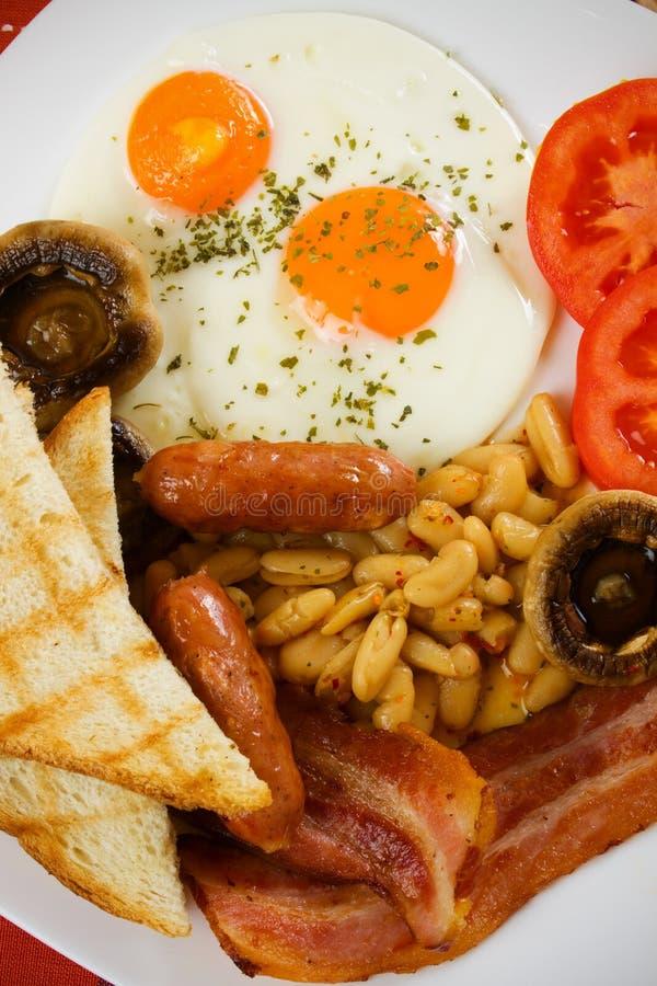 Prima colazione inglese tradizionale fotografia stock libera da diritti