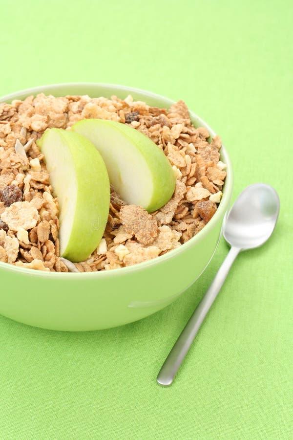 Prima colazione - musli fotografia stock