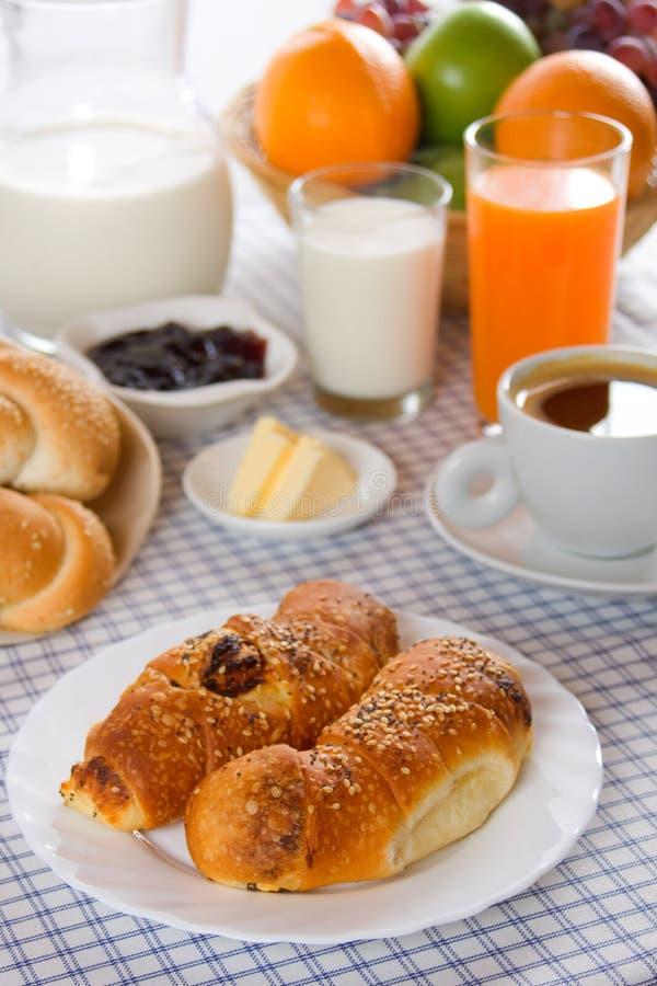 Prima colazione ricca e sana immagini stock libere da diritti